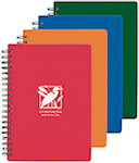 7 x 5 Translucent Notebooks